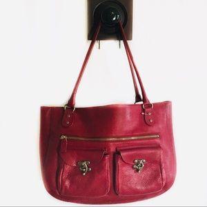 Cynthia Rowley | Red leather purse